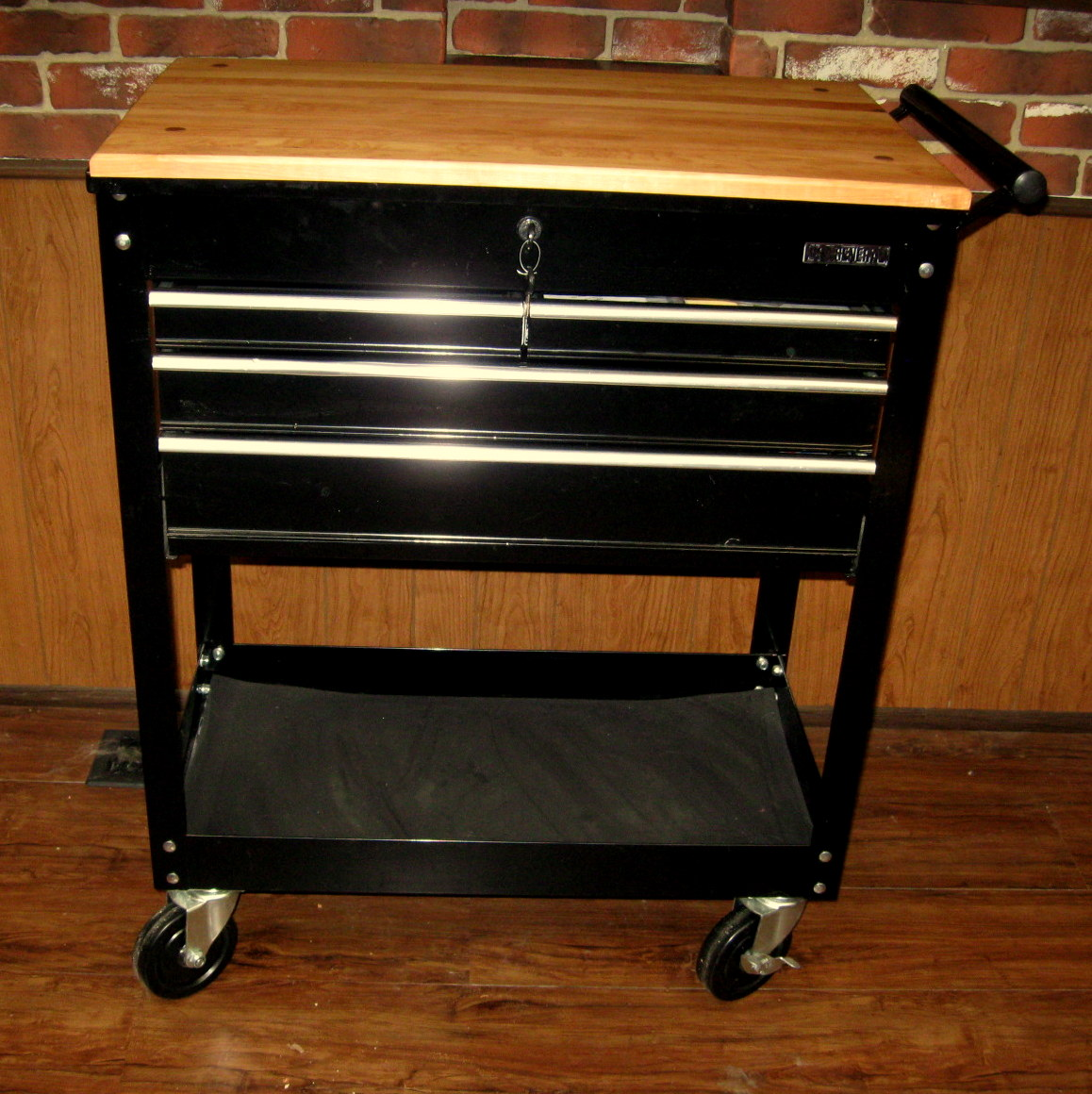 Homemade Kitchen Island Cart