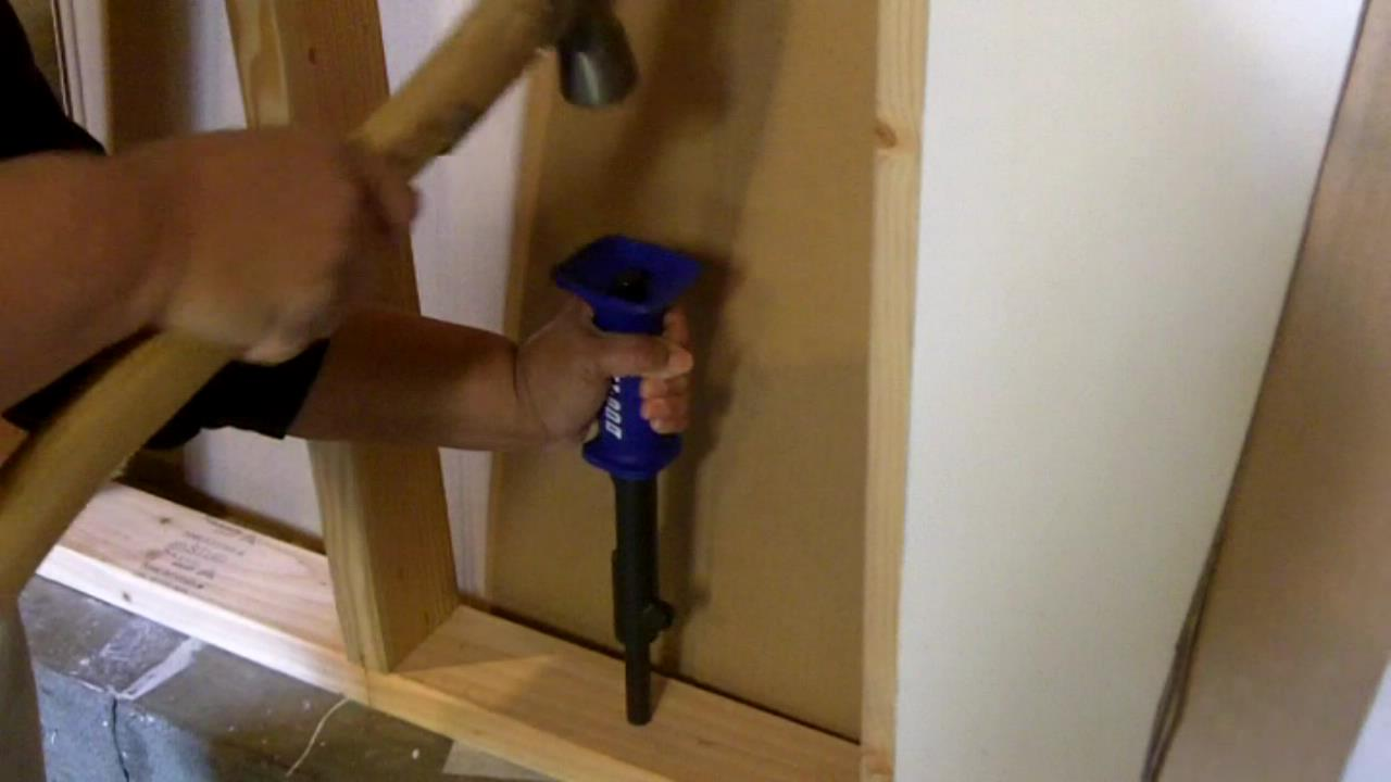 Best Way To Drive A Nail Into Concrete See Jane Drill
