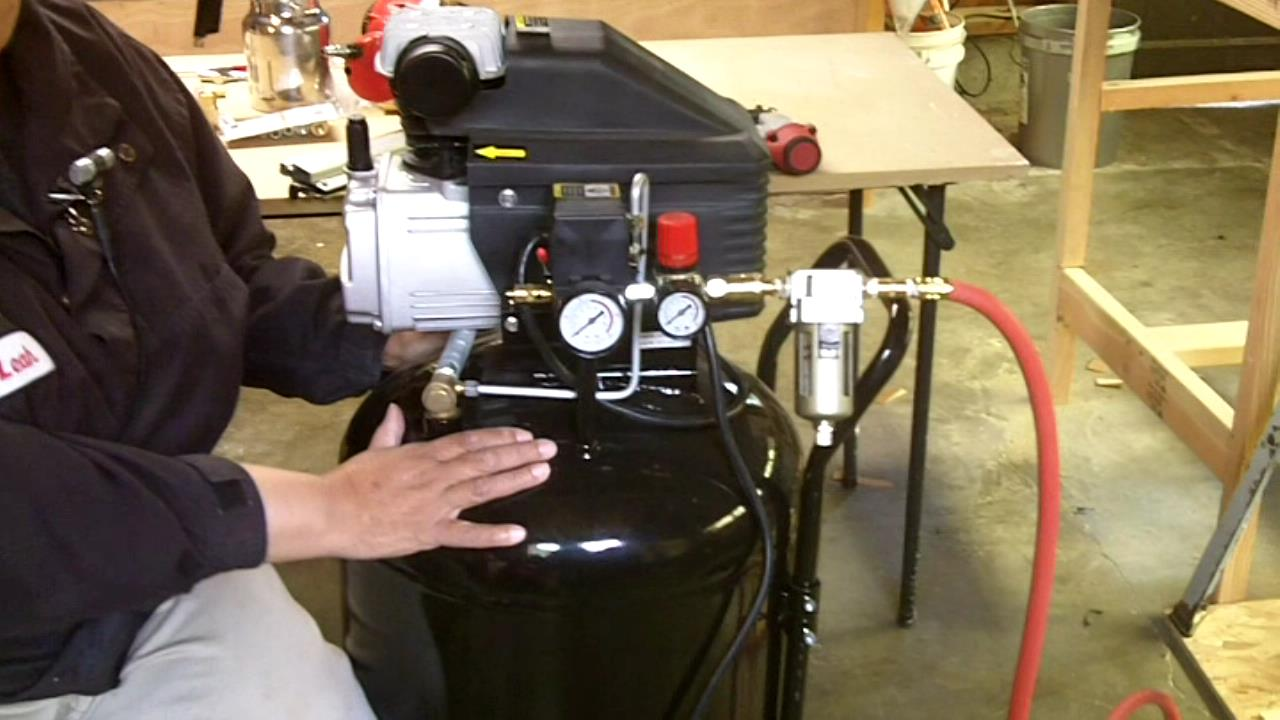 5 Reasons Why You Need an Air Compressor - See Jane Drill