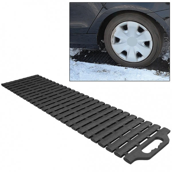 Friday Find Tire Traction Mat Drive Out Of Snow Easily