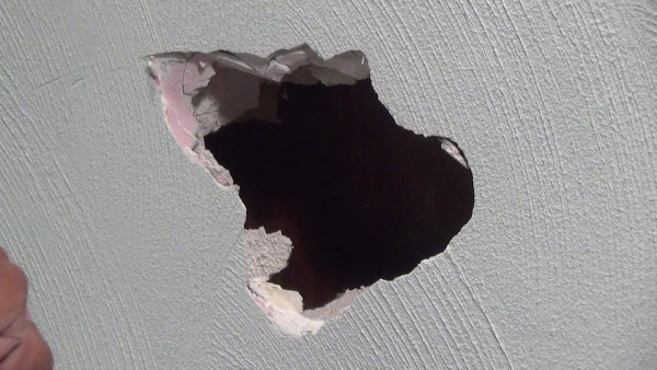 How To Repair A Hole In Plaster With Drywall See Jane Drill