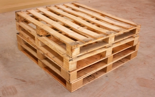 wooden shipping pallet in standard dimensions wooden pallet.